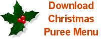 Download Christmas Puree Menu